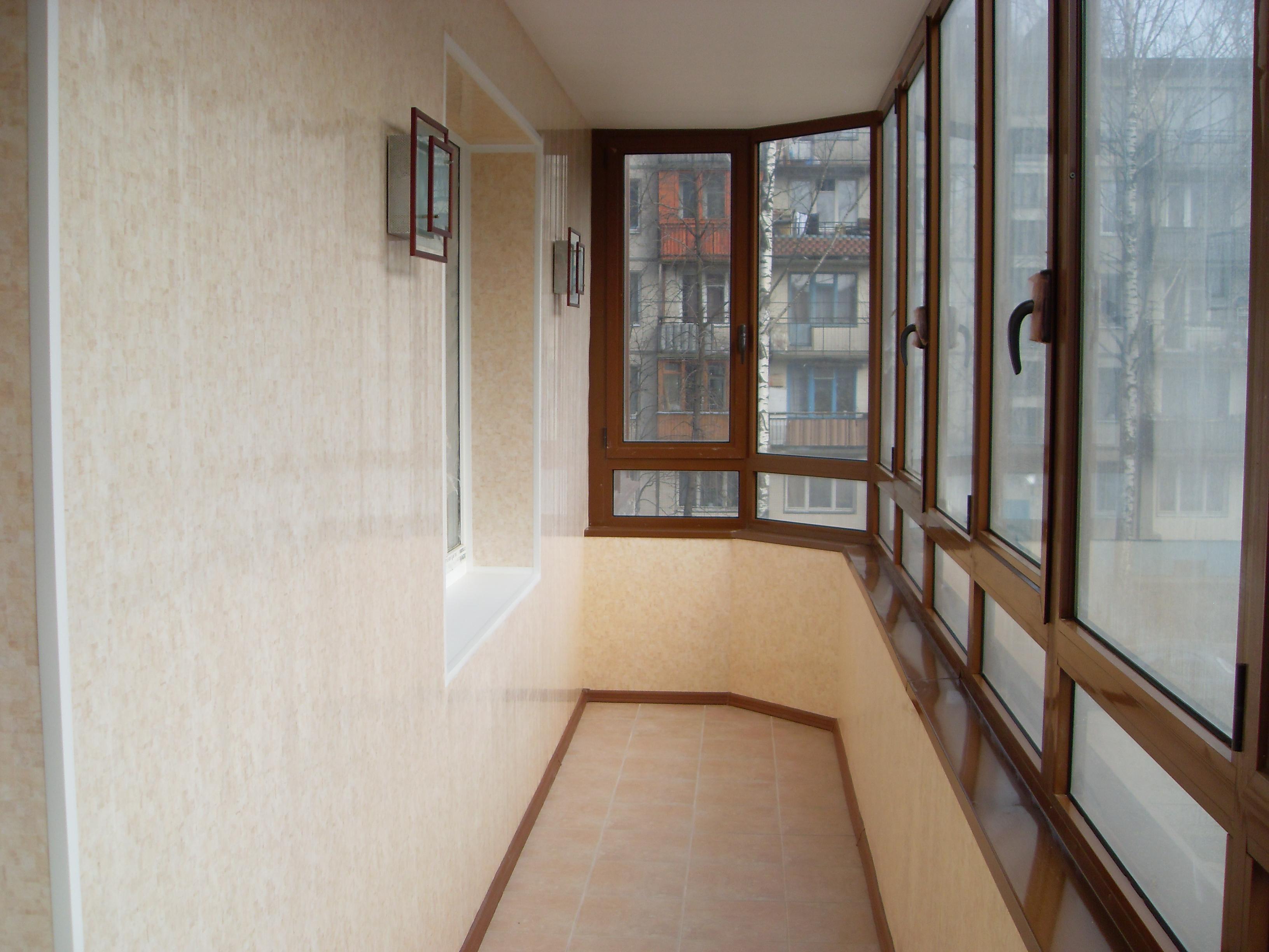 """Отделка балкона цена ооо """"грос""""."""
